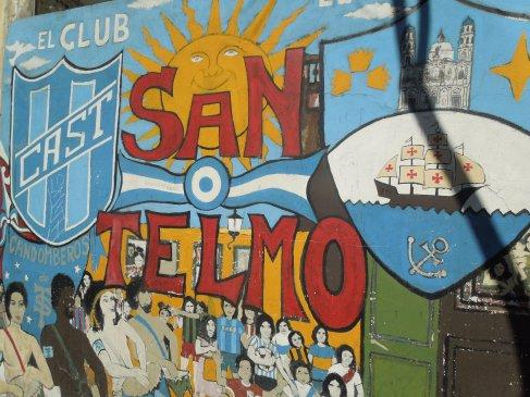 San Telmo street art, Buenos Aires