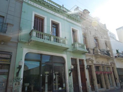 Buildings in San Telmo, Buenos Aires